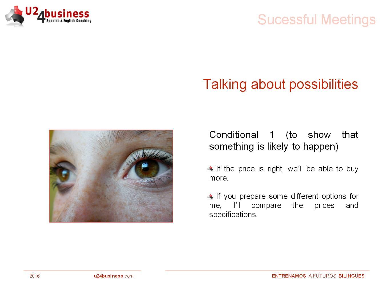 Inglés de negocios, reuniones en inglés